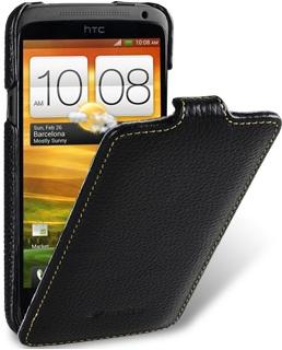 Чехол для HTC One X Melkco Jacka Type черный