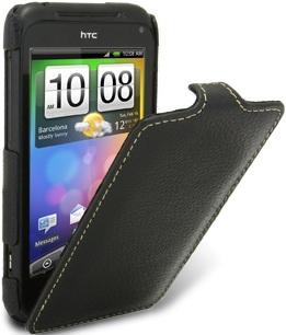 Чехол для HTC Incredible S Melkco Jacka Type черный