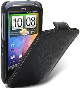 Чехол для HTC Desire S Melkco Jacka Type черный