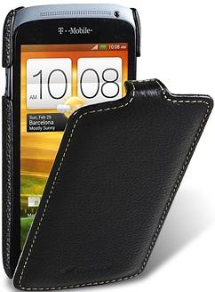 Чехол для HTC One S Melkco Jacka Type черный