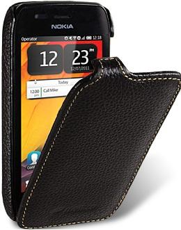 Чехол для Nokia 603 Melkco Jacka Type черный