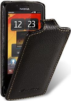 Чехол для Nokia 700 Melkco Jacka Type черный