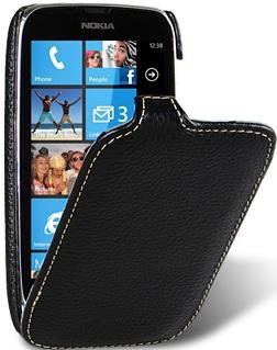 Чехол для Nokia Lumia 610 Melkco Jacka Type черный