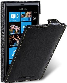 Чехол для Nokia Lumia 800 Melkco Jacka Type черный
