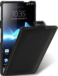 Чехол для Sony Xperia P Melkco Jacka Type черный