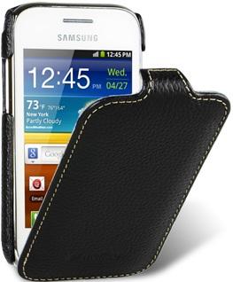 Чехол для Samsung Galaxy Ace DUOS S6802 Melkco Jacka Type черный