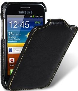 Чехол для Samsung Galaxy Ace Plus S7500 Melkco Jacka Type черный