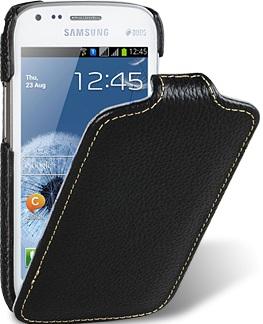 Чехол для Samsung Galaxy S DUOS S7562 Melkco Jacka Type черный