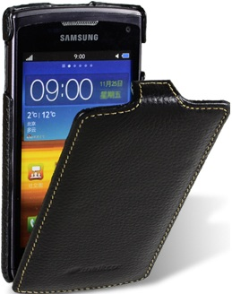Чехол для Samsung Wave 3 S8600 Melkco Jacka Type черный