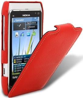 Чехол для Nokia N8 Melkco Jacka Type красный