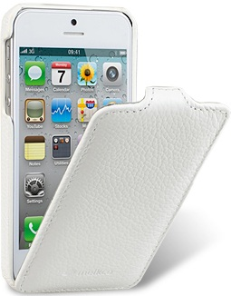 Чехол для iPhone 5 Melkco Jacka Type белый