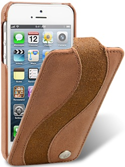 Чехол для iPhone 5 Melkco Special коричн. винтаж