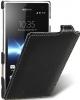 Чехол для Sony Xperia Acro S LT26w Melkco Jacka Type черный