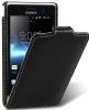 Чехол для Sony Xperia GO ST27i Melkco Jacka Type черный