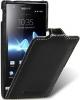 Чехол для Sony Xperia U Melkco Jacka Type черный