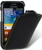 Чехол для Samsung Galaxy Ace Plus S7500 Melkco Jacka Type черный