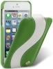 Чехол для iPhone 5 Melkco Special зелено- белый