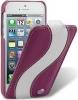 Чехол для iPhone 5 Melkco Special фиолет.- белый